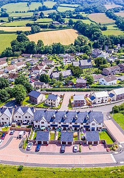 Housing Estate Drone Photography